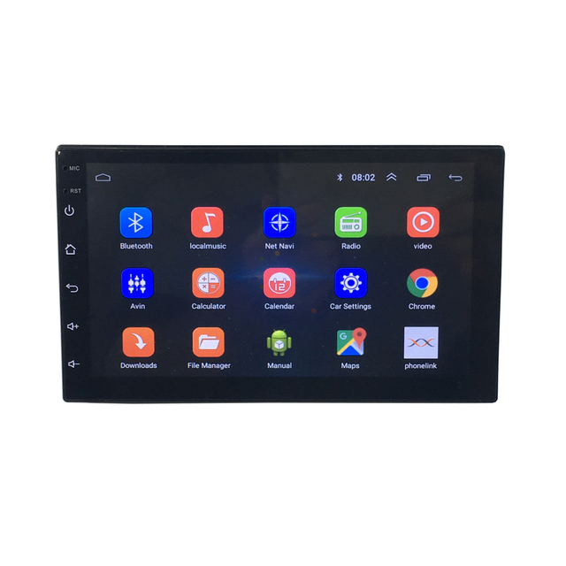 "Zhuiheng 7"" 2 Din Car radio 4G Wifi 2G RAM 32G ROM GPS Navigation BT FM USB No dvd universal autoradio Android car dvd player 1"