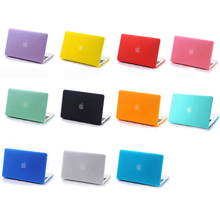 Free Shipping Transparent Matte Case Hard Cover Sleeve For mac macbook air pro retina display 11 12 13 15 inch without logo