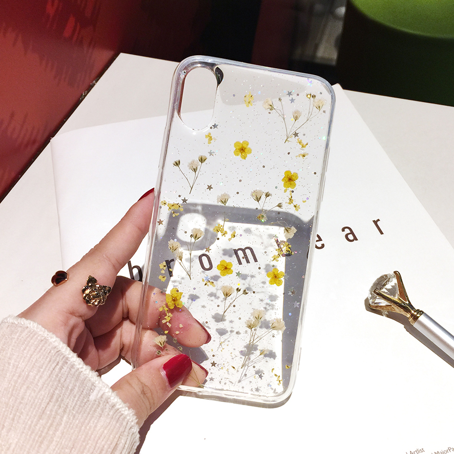 Flowers Soft Case for iPhone SE (2020) 36