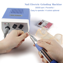 220V-240V AC Electric Nail Drill Machine Set Pen Kit 30000 RPM Nails File Grinding Art Tools for Acrylic Gel