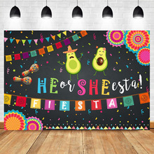 NeoBack Mexico Theme Gender Reveal Photography Background Colorful Flag Paper Umbrella Baby Shower Party Photography Backdrops mexico through foreign eyes1850–1990 paper
