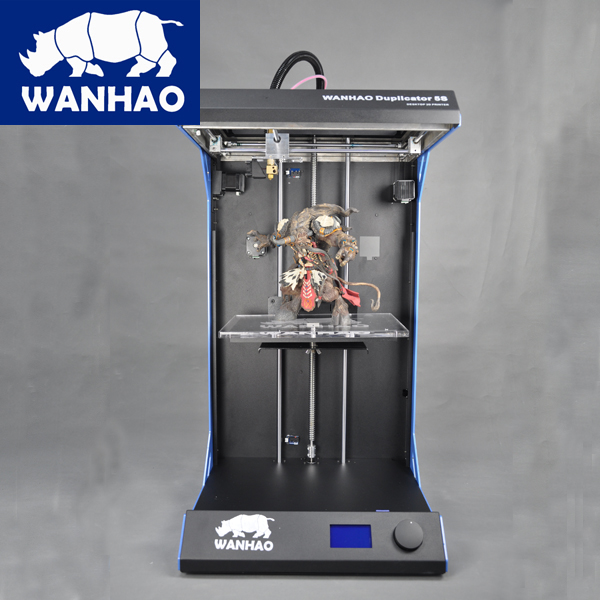 Digital 3D Printer Printing Machine Wanhao Duplicator 5S, Professional 3D Printer Large Printing Size 3d Printer desktop 3d printing digital 3d printing for sale