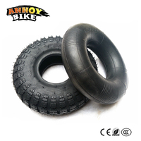 Electric Scooter Wheel Tires 10 inch 4.10\/3.50-4 Inner Tube And Tire Fit Inflatable Tyre Electric Scooter Balance Drive Bicycle