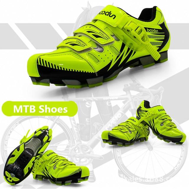 Boodun sapatos de ciclismo respirável antiderrapante profissional auto-bloqueio da bicicleta sapatos de corrida mtb estrada sapatos de ciclismo 5