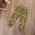EE.UU. Venta Caliente Recién Nacido Baby Girl Boy Ropa Otoño Primavera Lindo Inferior Leopard Harem Pantalones Leggings Pantalones