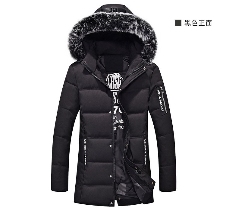 New Top Thick Warm Winter Jacket Men Overcoat Casual Loose Isosoft Removable Silver Fox Hat Coats Free Shipping free shipping winter parkas men jacket new 2017 thick warm loose brand original male plus size m 5xl coats 80hfx