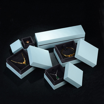 High Quality Box For Ring Earring Packaging Boxes 20pcs/lot Pendant Necklace Packaging Boxes Engagement Jewelry Packaging