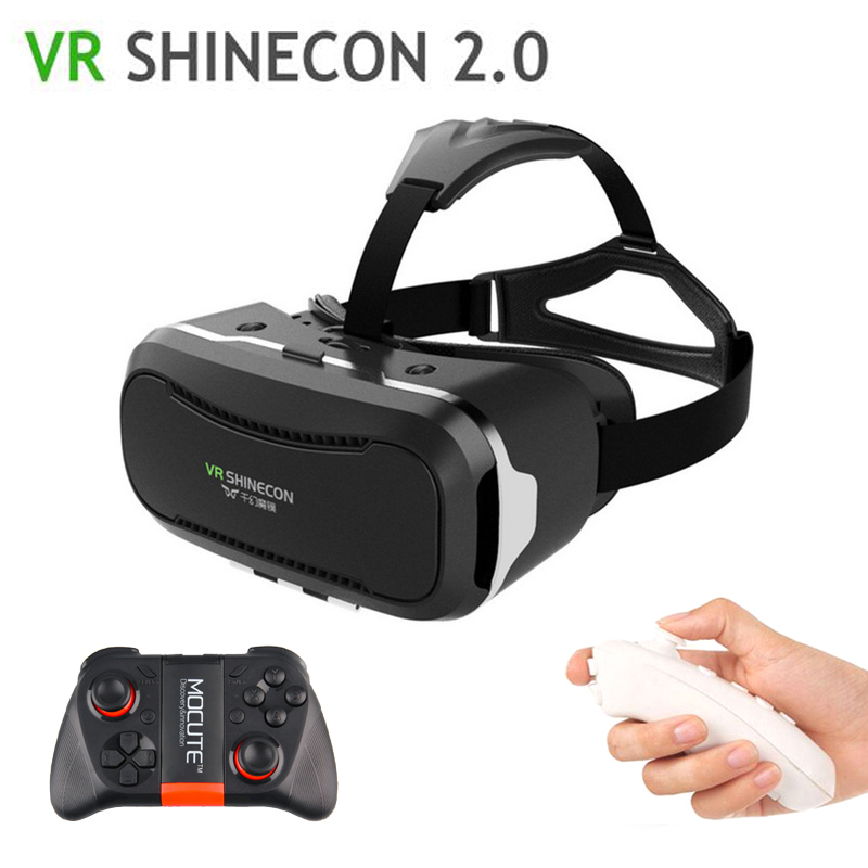 Shinecon 2.0 VR <font><b>Virtual</b></font> <font><b>Reality</b></font> 3D VR <font><b>Glasses</b></font> immersive Google Cardboard VR <font><b>for</b></font> <font><b>4.0</b></font>~<font><b>6.0</b></font> <font><b>inch</b></font> iPhone samsung LG sony Smartphones