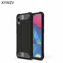 For Samsung Galaxy M10 Case Shockproof Armor Rubber Hard Phone Cover Fundas