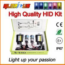 H7 kit de xenón HID 55 W de la linterna del coche H1 H3 H4 H8 H9 H11 H10 9005 HB3 HB4 9006 881 H27 lámpara 4300 K 6000 K 8000 K lámpara de Xenón h7