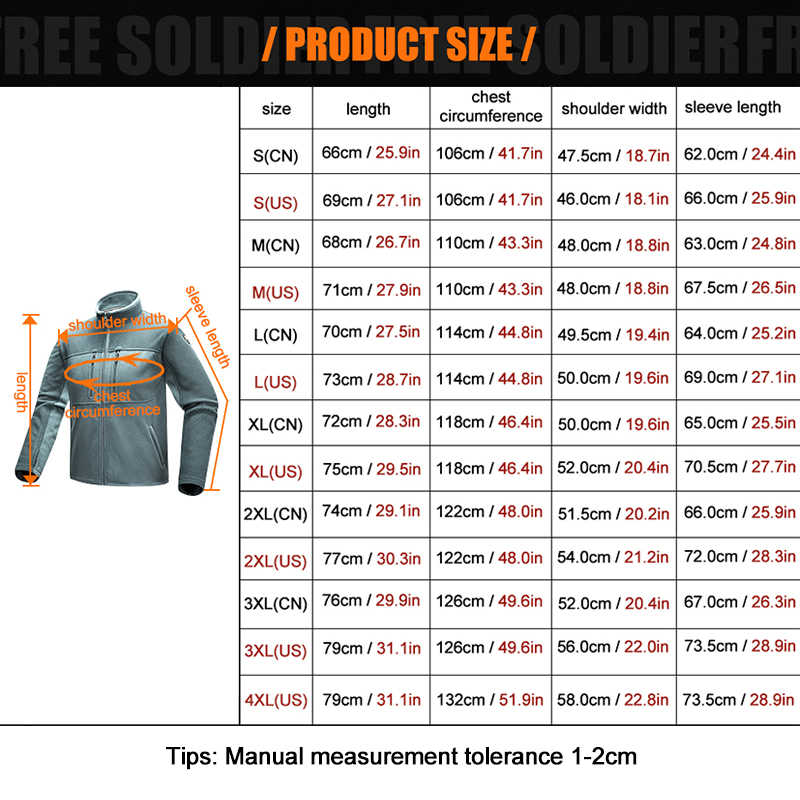 FREE SOLDIER Outdoor camping hiking tactical longsleeve sweatshirt new model of wear-resistant, military style jacket/coat