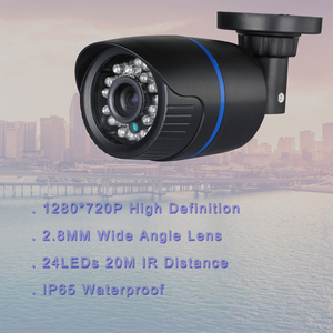 Image 4 - Hamrolte CCTV Camera System 4CH POE NVR HD 720P 2.8MM Wide Angle Nightvision 12V POE Camera 4CH POE NVR KIT Home security System