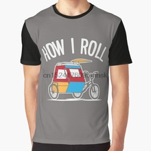 63daebc4c3 All Over Print Men t shirt Funny tshirt How I Roll Filipino Padyak Graphic  Women T