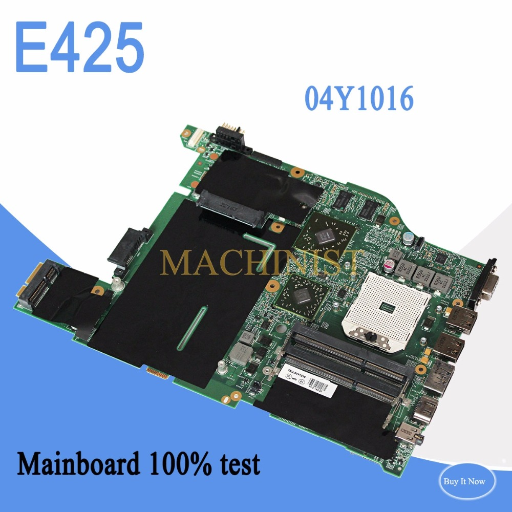 04Y1016 For Lenovo E425 laptop notebook motherboard 04Y1016 SOCKET FS1 DDR3 HD6470 100% tested intact04Y1016 For Lenovo E425 laptop notebook motherboard 04Y1016 SOCKET FS1 DDR3 HD6470 100% tested intact