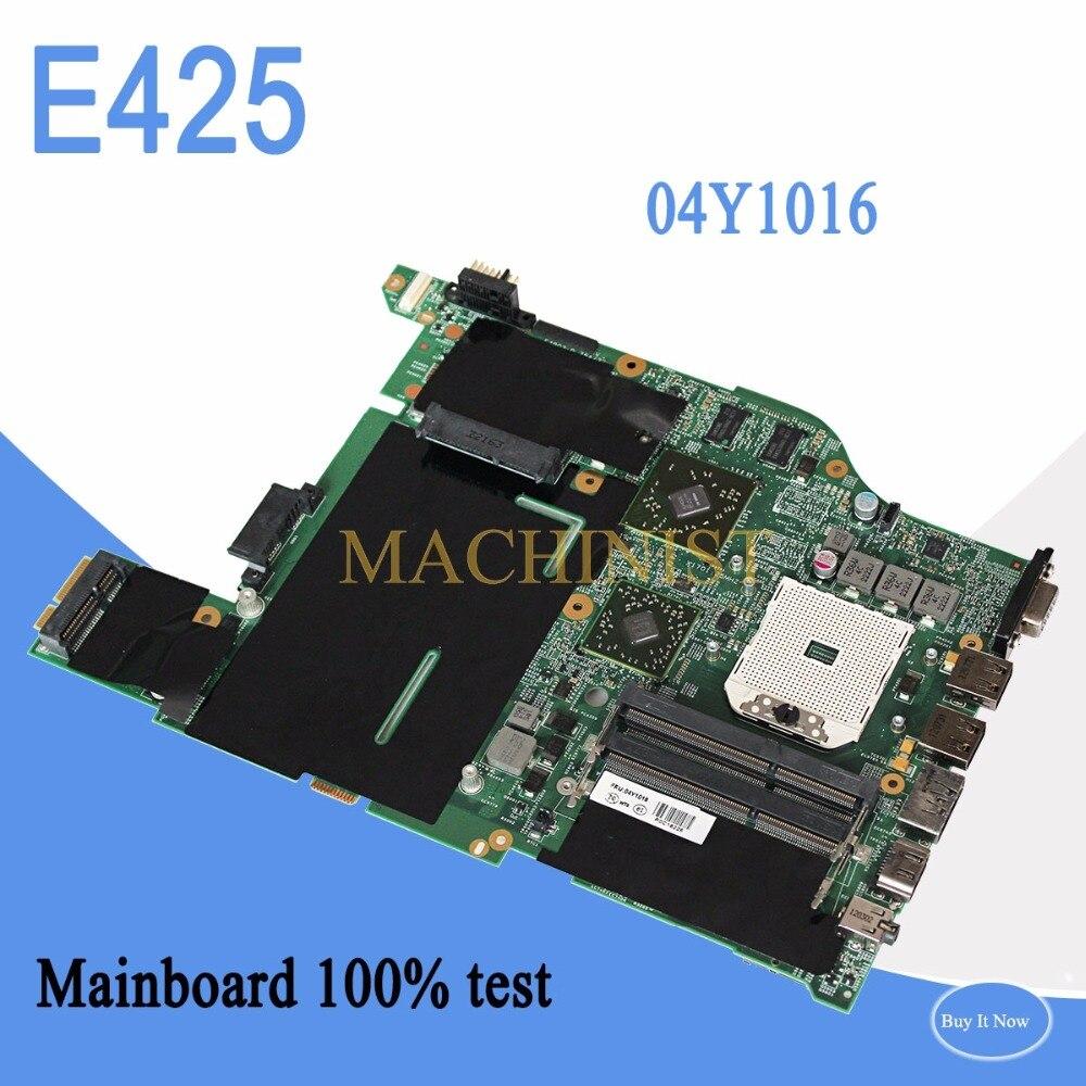 04Y1016 Pour Lenovo E425 ordinateur portable notebook carte mère 04Y1016 PRISE FS1 DDR3 HD6470 100% testé intact