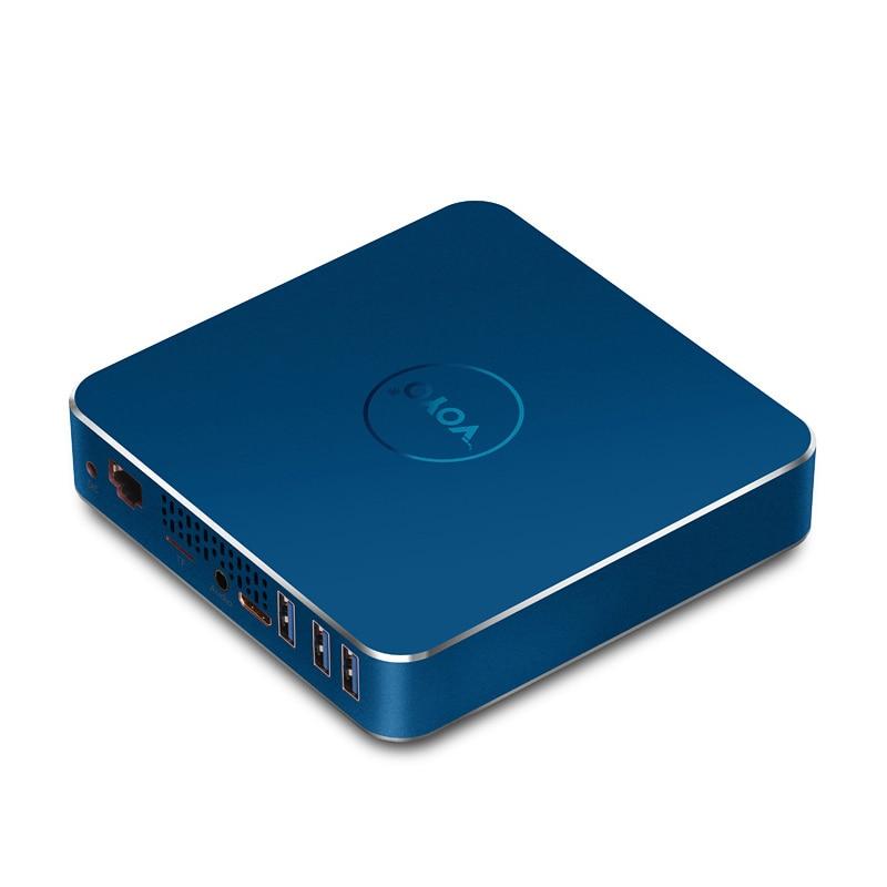 Prix pour Vmac mini pc avec apollo n3450 d'origine licence windows10 poche pc intel n3450 4 gb ddr3l ram 64 gb ssd usb3.0 4 k hd sortie