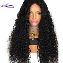 Dream Beauty 130% Lace Front Human Hair Wigs curly Brazilian Remy Hair Pre Plucked Natural Hairline With Baby Hair