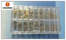 Envío Gratis 1 Unidades Coronas de Oro y Plata Reloj de Acero Inoxidable Reloj + Tubo + Tallos para la Reparación Del Reloj Del Reloj