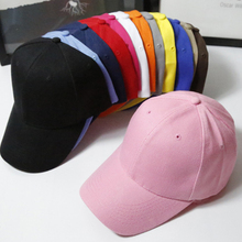 Pink Adult Unisex Casual Solid Adjustable Baseball Caps Snapback Hats For  Men Baseball Cap Women Men 36bb961c404