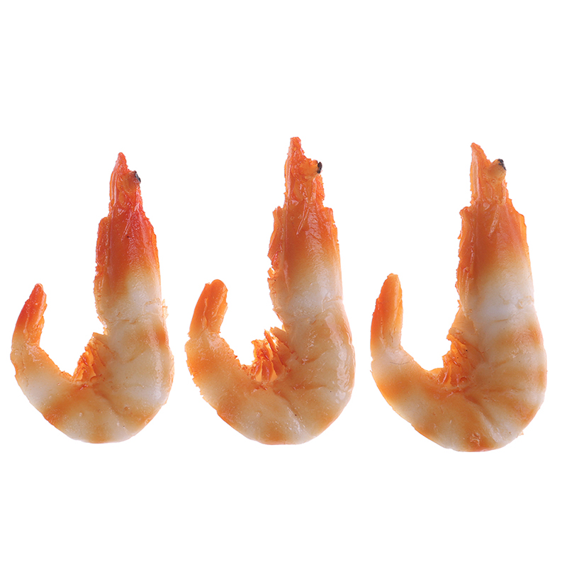 6cm*3cm Artificial Pvc Props Model Shrimp Crayfish Shrimp Model Of The Early Learning Toy Early Learning Toys Dollhouse