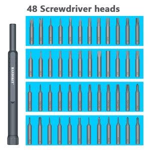 Image 5 - Набор прецизионных отверток 48 в 1, набор многофункциональных магнитных отверток для телефонов, планшетных ПК, Ремонтный инструмент для электроники