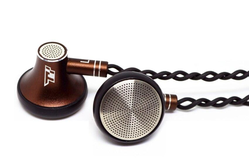 TY Hi-Z F300M 300ohm 5N High Imdependce Fidelity Flat-Head Earbud Headset 300 Seahf HP320 Hifi Music DJ Monitor Stereo Earphones