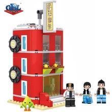 GBL City House Models & Building Blocks Original Brand Designs Best Friends Hostel Toys For Girls Christmas Gift Jouet Enfant
