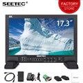 SEETEC FS173-S4K 17 3 дюймов 3g SDI 4 K HDMI радиовещательная студия монитор Прочный алюминиевый корпус Full HD 1920x1080 производственный монитор