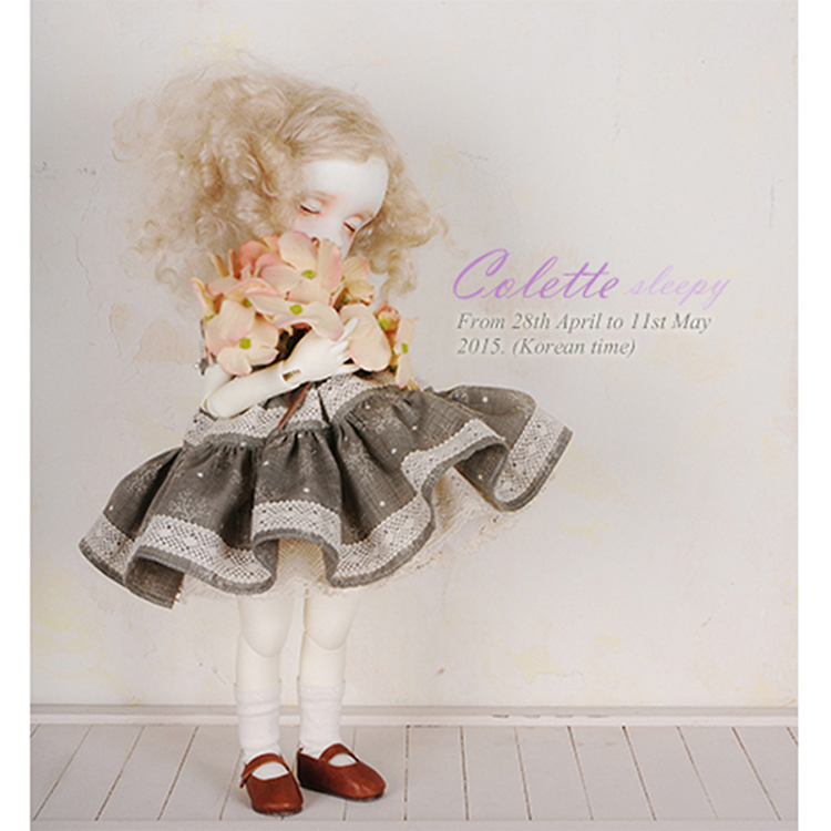 New arrival OUENEIFS Colette imda 3.0 Soom sleep 1/6 bjd sd dolls Cute doll resin figures body model reborn baby girls boys кукла bjd dc doll chateau 6 bjd sd doll zora soom volks