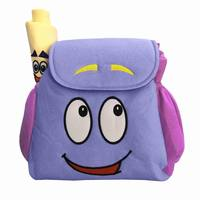 Дора Путешественник Рюкзак сумка с комплектом первой помощи с картой, предварительно игрушки для детского сада фиолетовые рождественские ...