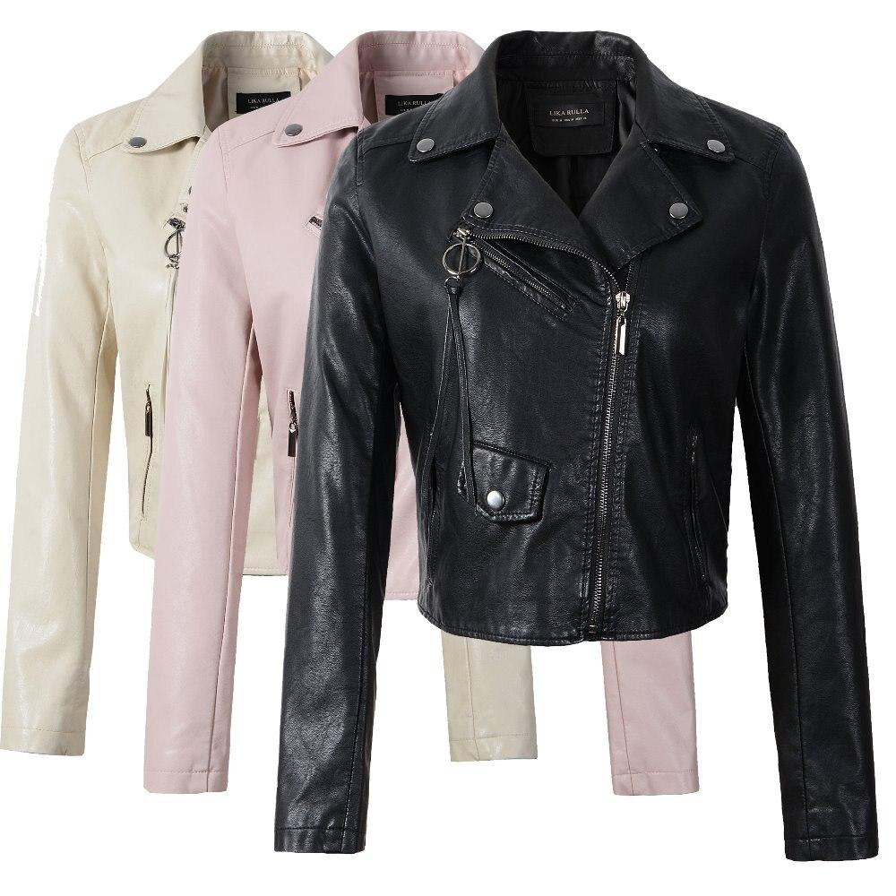 Neue 2019 frauen winter herbst neue kleidung marke mode schlank rosa - Damenbekleidung - Foto 1
