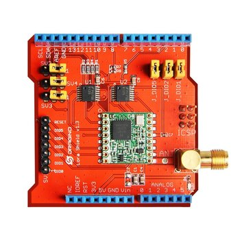 For Wireless 433/868/915Mhz Lora Shield signal stable emission module