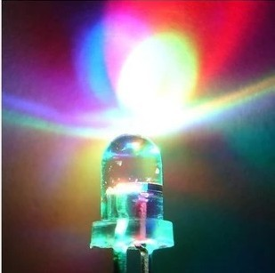 5MM LED Light-Emitting Diodes Slow Flashing Colorful Light Highlighted Luminous Tube