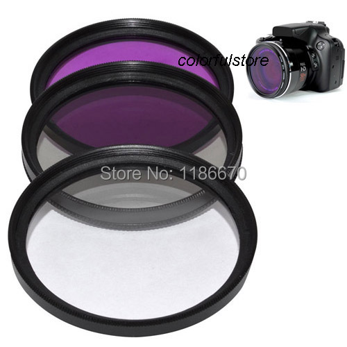 Multithreaded Glass Filter 55mm UV 1A Multicoated Haze For Pentax K-S2