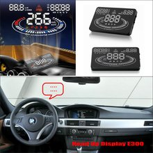 For BMW 3 E46 E90 E91 1998~2013 – Safe Driving Screen Special Car HUD Head Up Display Projector Refkecting Windshield
