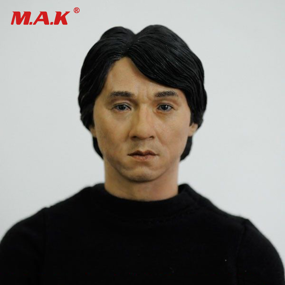 1/6 Headplay Male Figure Head Model CG CY Jackie Chan Head Sculpt 13-41-NP Action Figure Collection Doll Toys Gift