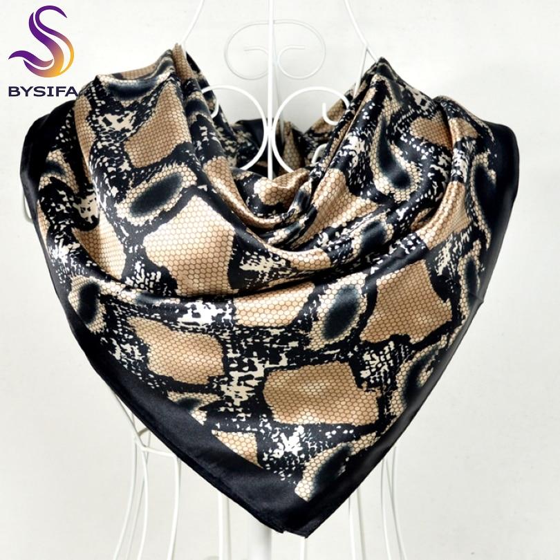 New Style Snakeskin Pattern Square Scarves Wrapss