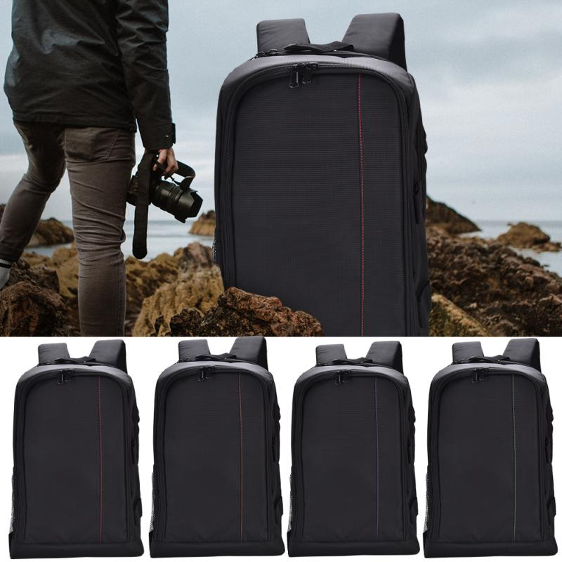 Waterproof Wear-resistant Shockproof DSLR Camera Padded Bag Backpack for high quality