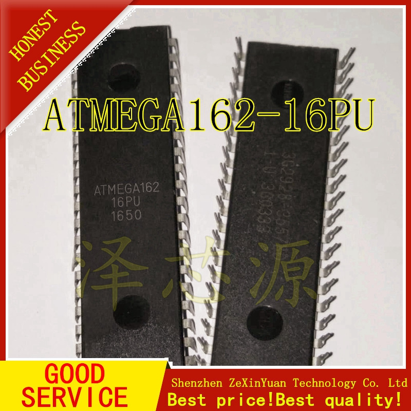 ATMEGA162-16PU ATMEGA162 DIP-40 New Original IC