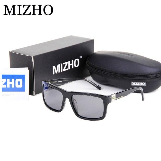 4c6acfa1a MIZHO Brand Designers High-End Sunglasses Women Polarized Luxury Boutique  Acetate Frame UV Polaroid Lens