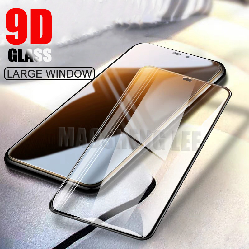 New 9D Tempered Glass For IPhone X XS Max XR Screen Protector Full Cover 9H Protective Glass For Iphone Xs Max Tempered Glass