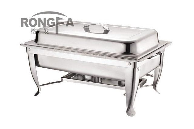 स्टेनलेस स्टील chafing पकवान - रसोई, भोजन कक्ष और बार