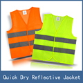 5pcs High Visibility Night Working Protection Clothing Reflective Safety Vest Jacket , Traffic Work Cleaner Chaleco Reflectante