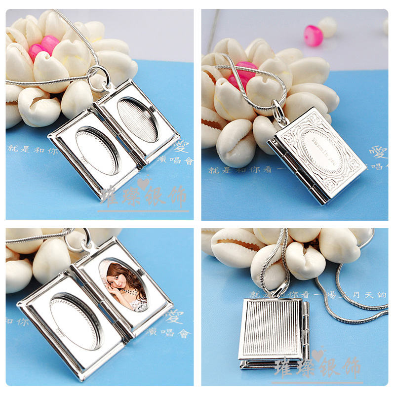 Image 4 - A Couples Necklace Hangs Pictures, Books, Photo Boxes, 