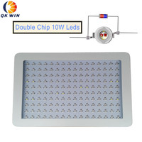 New design Qkwin 1600W LED Grow Light double chip 370W True Power Full Spectrum with on/off button France warehouse Dropshipping