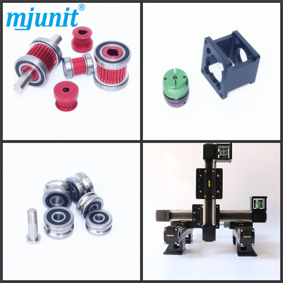 mjunit miniature 3d printer linear guide/linear guide block/belt drive linear guide rail the manga guide to linear algebra toothed belt drive linear guideway