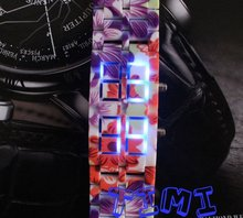 NEW Arrival!   Design Light Dot Matrix LED Digital Ladies Girls' Watches freeship hot