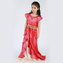 Sale Girls New Favourite Latina Princess Elena From TV Of Avalor Adventure Next Child Halloween Costumes