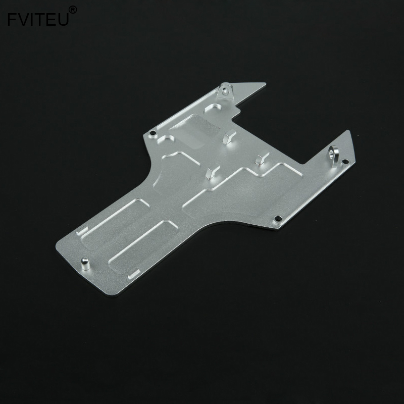 FVITEU CNC Metal Under Guard Plate for 1 5 hpi rovan baja 5b ss King Motor