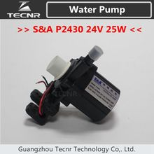 Brushless DC Pump P2430 24V voltage 25W watt 8.5L/min 13PSI for industrial Chiller CW3000